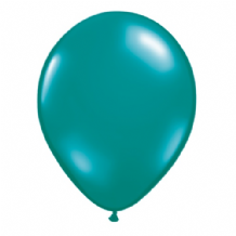 "Qualatex 11 inch Balloons - Teal 11"" Balloons (Jewel 100pcs)"
